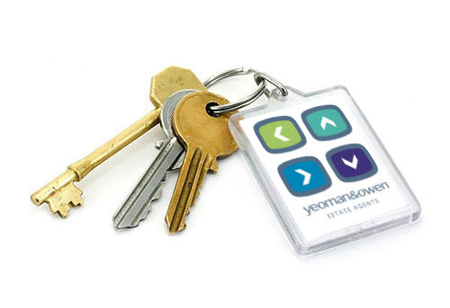 Image of keys on a keychain